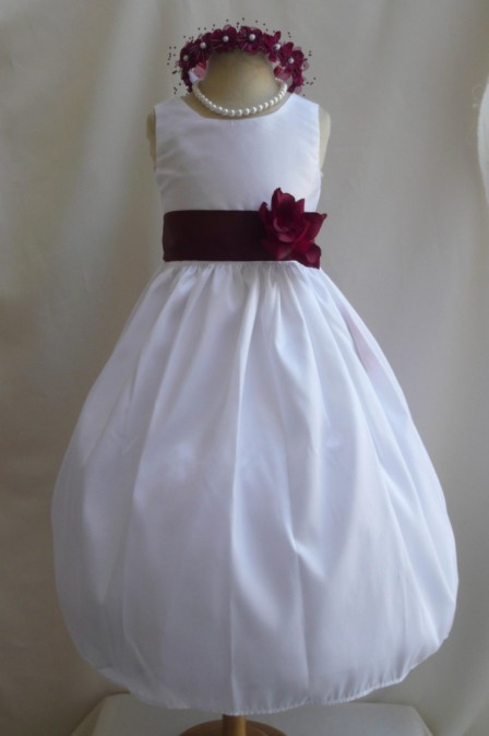 Wedding dress for girls image
