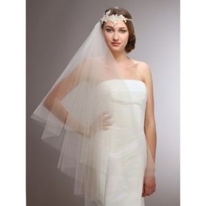 Couture Cascading 1-Sided Wedding Veil