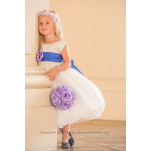 flower-girl-dress-simple-classy-tulle-white-with-blue-royal-for-easter-wedding-bridesmaid-d97