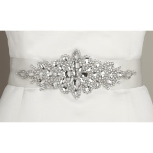 opulent-white-satin-bridal-sash-with-crystal-starburst-56b