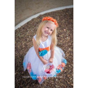 rose-petal-dress-combination-orange-and-turquoise-custom-colors-4c5