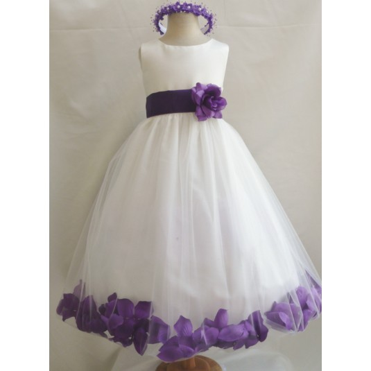 Wedding Dresses Purple And Cream 61