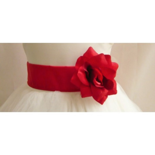 flower-girl-dress-sash-red-cherry-for-easter-wedding-bridesmaid-communion-8b5