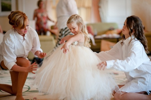 southern-wedding-tulle-flower-girl-skirt